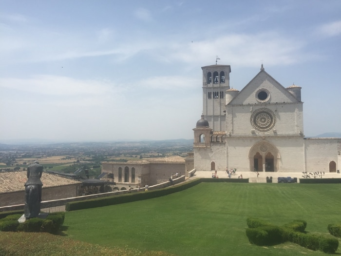 De Basiliek van Sint-Franciscus van Assisi