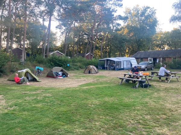 camping de Vledders Pieterpad