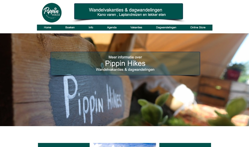 pippin hikes website