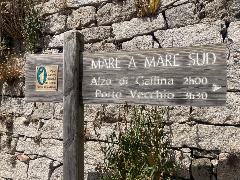 wegwijzer Mare a Mare Sud