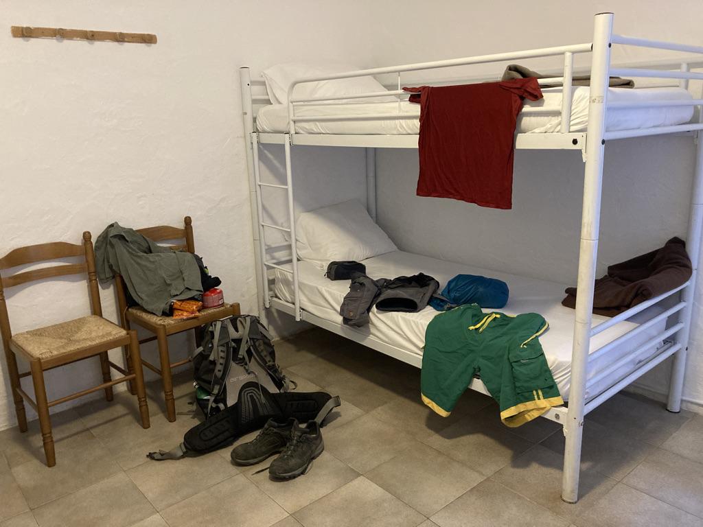 Slaapzaal Gîte De Cartalavonu