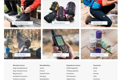 Bever.nl wandelen website