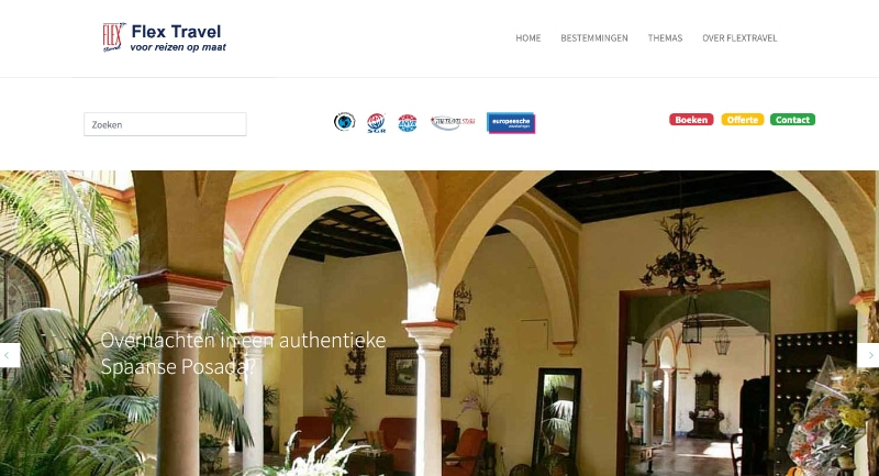 flextravel website