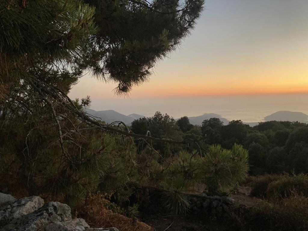 Zonsondergang Corsica e Case