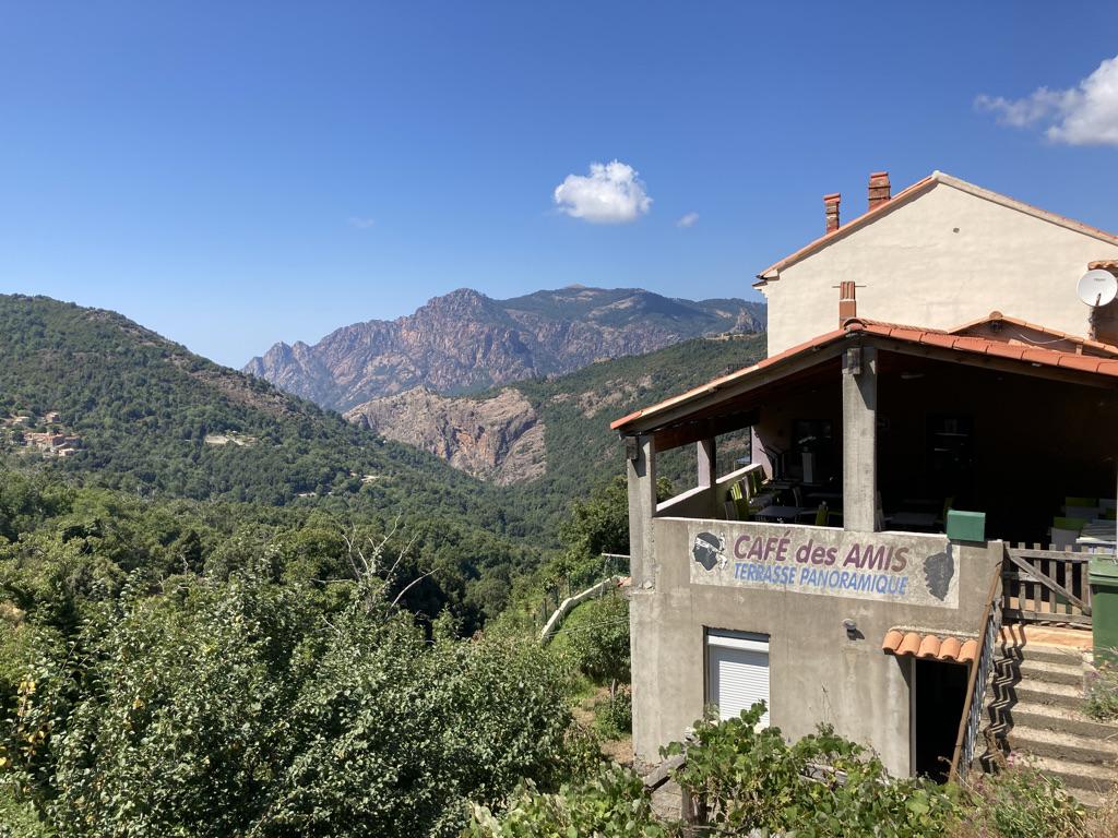 Cafe des Amis in Marignana