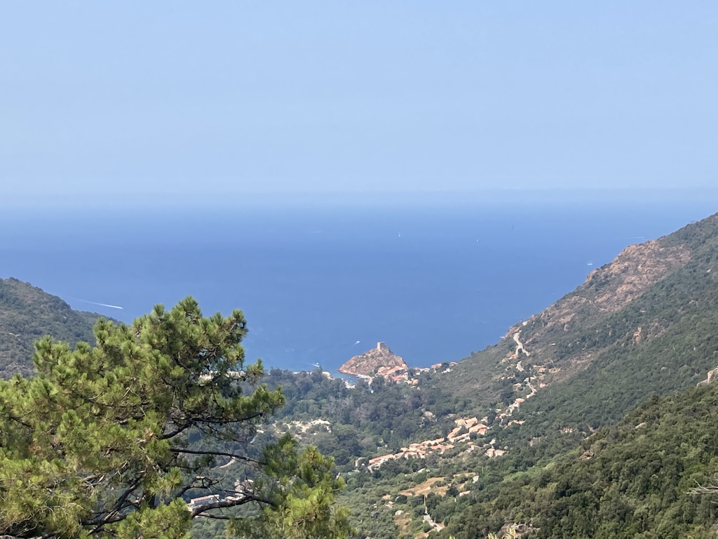 Uitzicht op Porto, Corsica