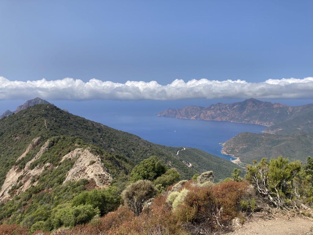 vergezichten Corsica