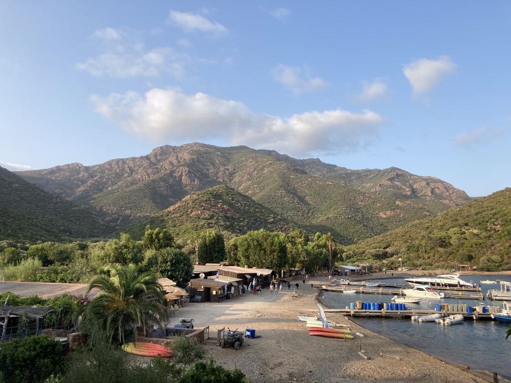 jachthaven Girolata Corsica