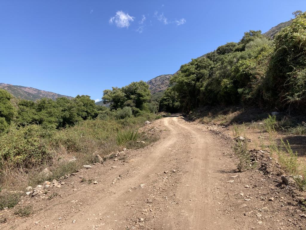zanderige wandelroute Mare e Monti