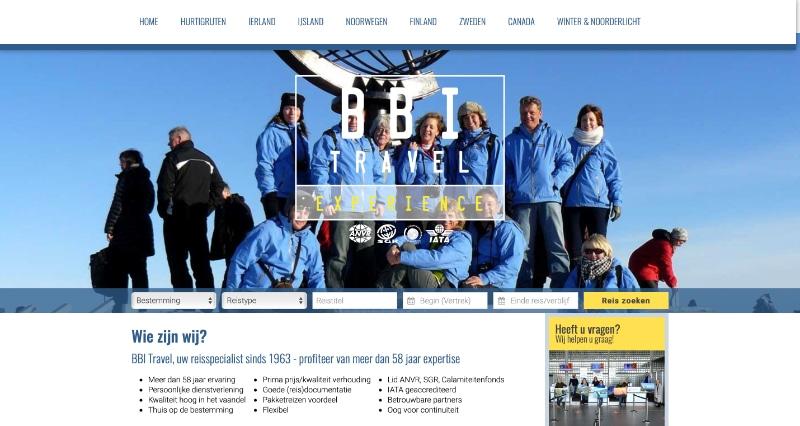BBI Travel website